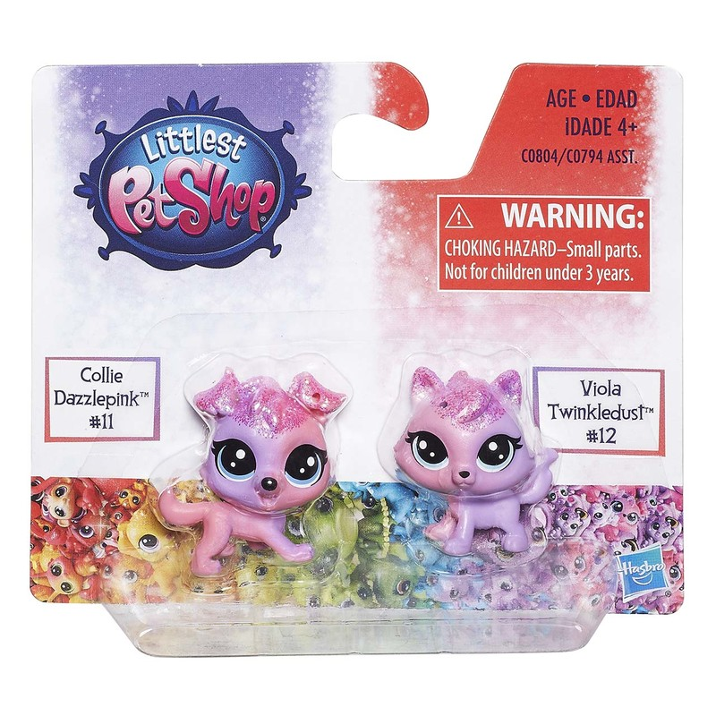 HASBRO - Littlest Pet Shop Duhový set 2 ks zvířátek