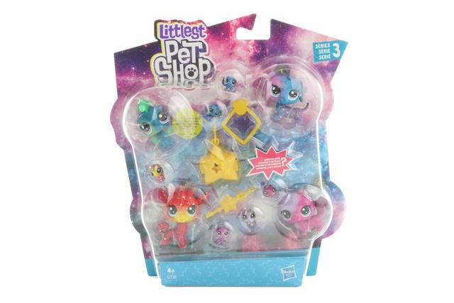 HASBRO - Littlest Pet Shop - kosmické zvířátka