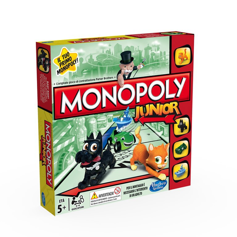 HASBRO - Monopoly Junior A6984 - SK New 2014