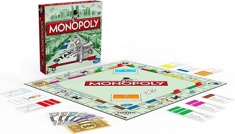 HASBRO - MONOPOLY Standard Společenská hra
