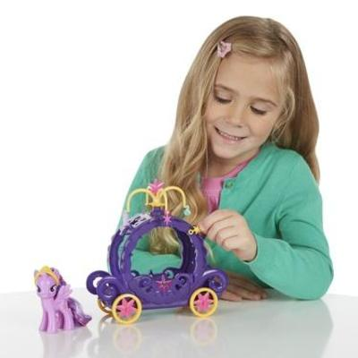 HASBRO - My Little Pony Hrací set kočár B0359