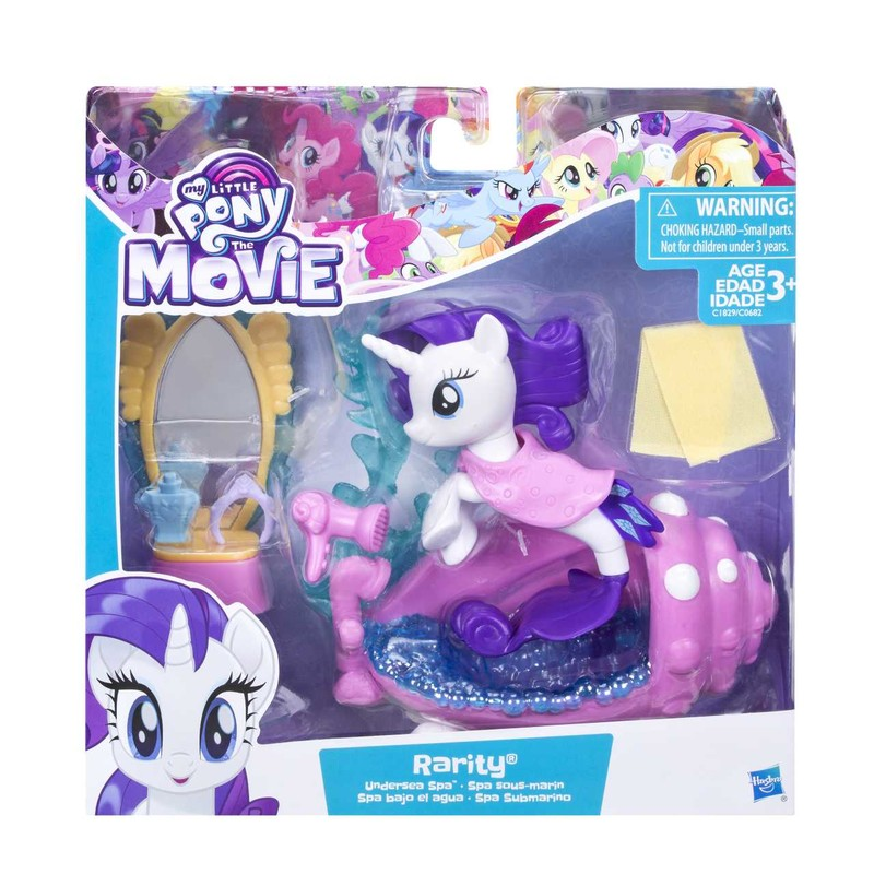HASBRO - My Little Pony Podmořský hrací set s poníkem 7,5cm asst