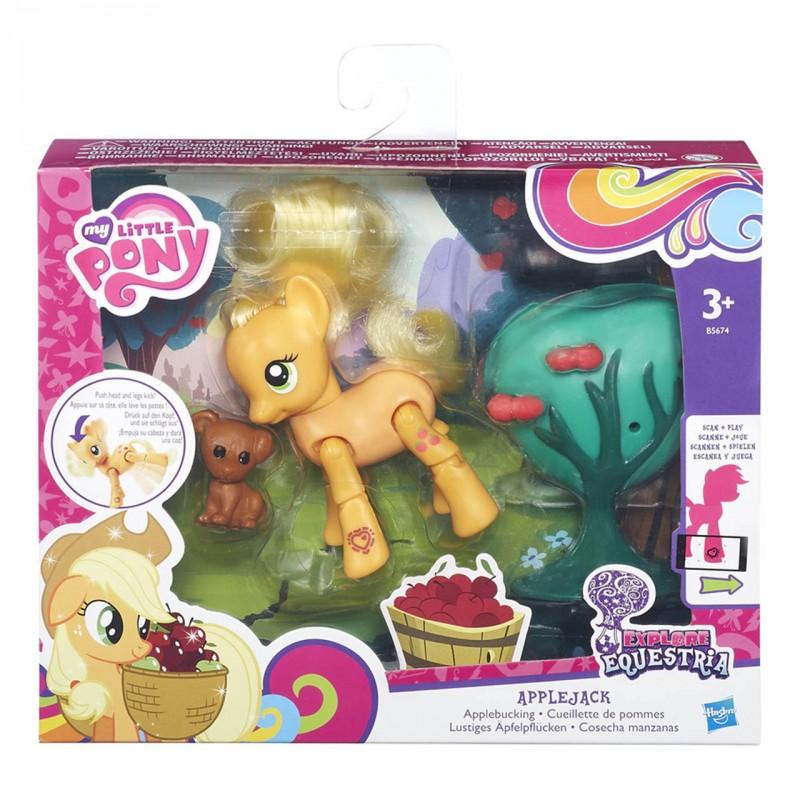 HASBRO - My Little Pony Poník S Kamarátomm A Doplňky Asst
