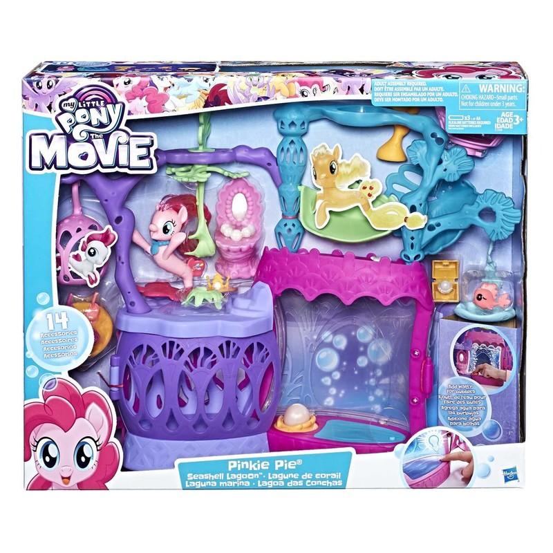 HASBRO - My Little Pony Svítící podmořský hrací set s bublifukem