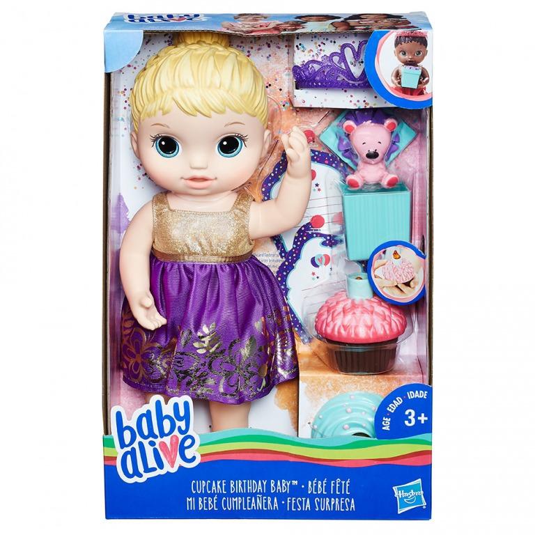 HASBRO - Narozeninová panenka Baby Alive