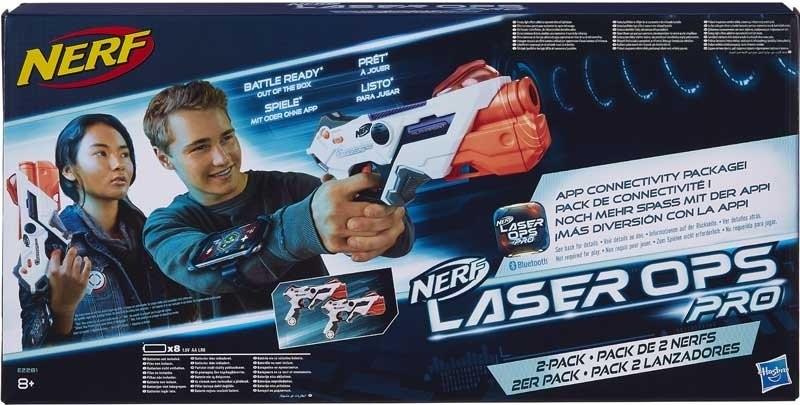 HASBRO - Nerf Laser OPS Pro Alphapoint E2281 dvojbalení