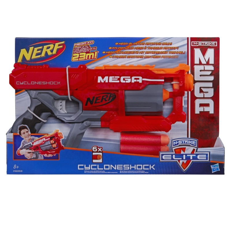 HASBRO - Nerf Mega S Rotačním Zásobníkem