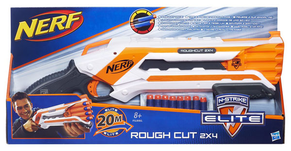 HASBRO - Nerf N-Strike Elite Rough Cut 2x4 A1691