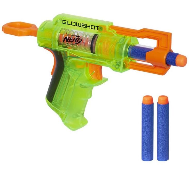 HASBRO - Nerf N-Strike Stealth B4615 Svítící pistole