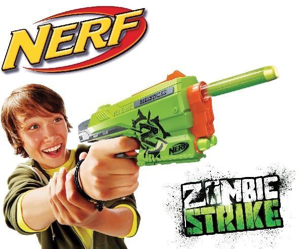 HASBRO - Nerf Zombie pistole A6557