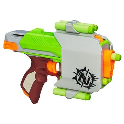 HASBRO - Nerf Zombie Strike Sidestrike Blaster A6557