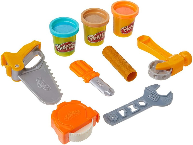 HASBRO - Play-Doh dětské nářadí toolin Around sada 9ks