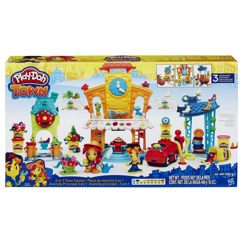 HASBRO - Play Doh TOWN 3-IN-1 TOWN CENTER