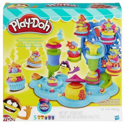 HASBRO - Playdoh Cupcake selebration - Tortičková oslava B1155