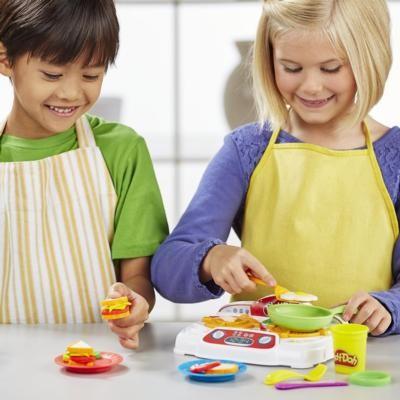 HASBRO - Playdoh Kuchyňské tvoření se syčící deskou B9014