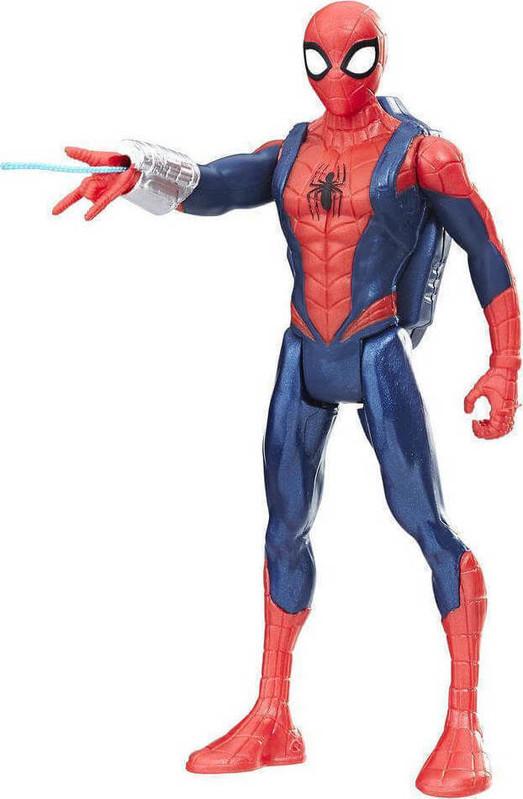 HASBRO - Spiderman 15Cm Figurky S Vystřelovacím Pohybem