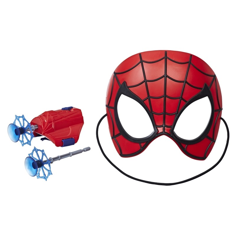 HASBRO - Spiderman maska a výstroj s projektilmy, mix produktů