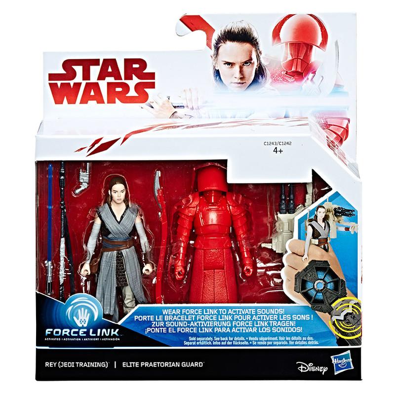 "HASBRO - Star Wars Dvě deluxe figurky 9,5 cm ""Force Link"" asst"