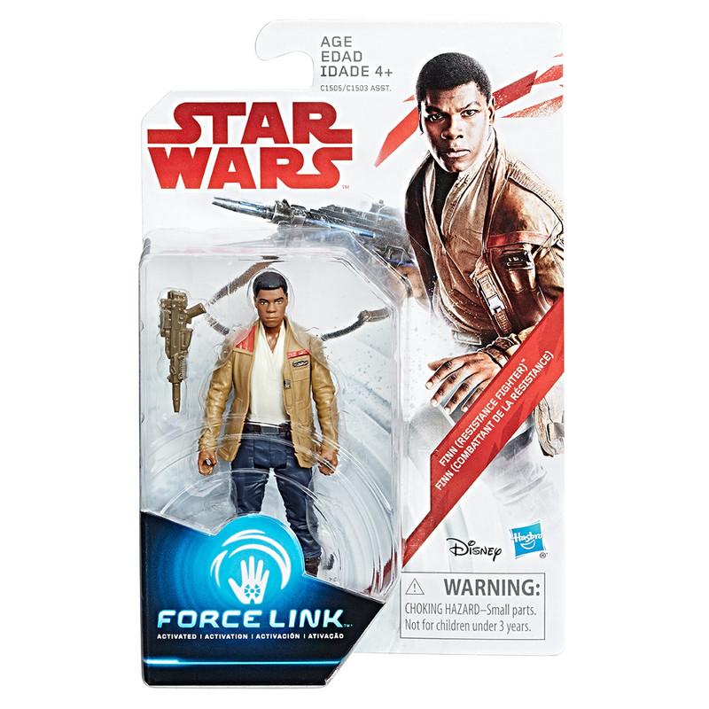 """HASBRO - Star Wars E8 9,5Cm \""""Force Link\"""" Figurky S Doplňky A , Mix Produktů HASBRO"""