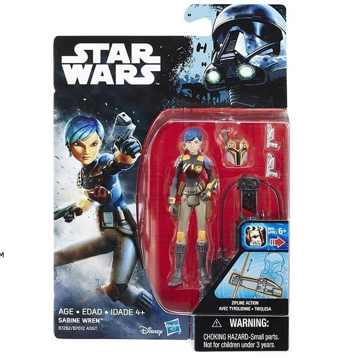 HASBRO - Star Wars R1 figurka - Sabine Wren B7282