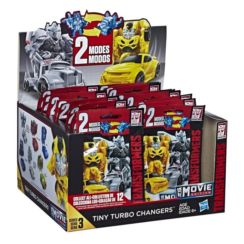 HASBRO - Transformers Bumblebee Mini 1x transformace