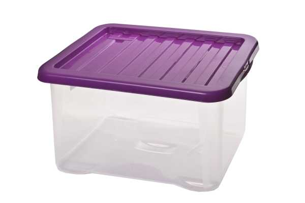 HEIDRUN - Box QUASAR s poklopem, 28 l