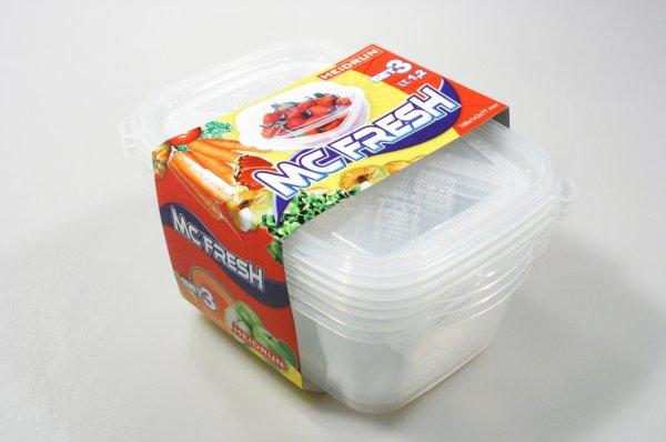 HEIDRUN - Dózy na potraviny MC Fresh 3 x 1,2 l