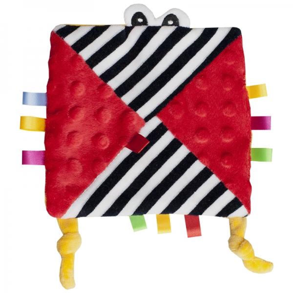 HENCZ TOYS - Mazlík šuštik s očičkama - červený