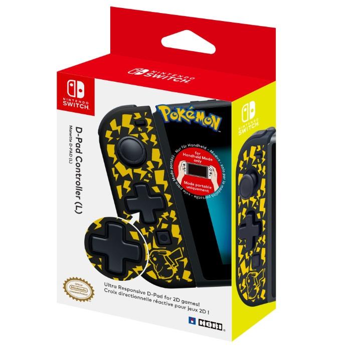 HORI - D-Pad Controller for Nintendo Switch (Pikachu)