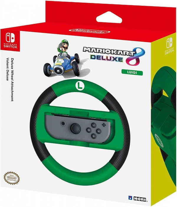 HORI - Joy-Con Wheel Deluxe - Luigi