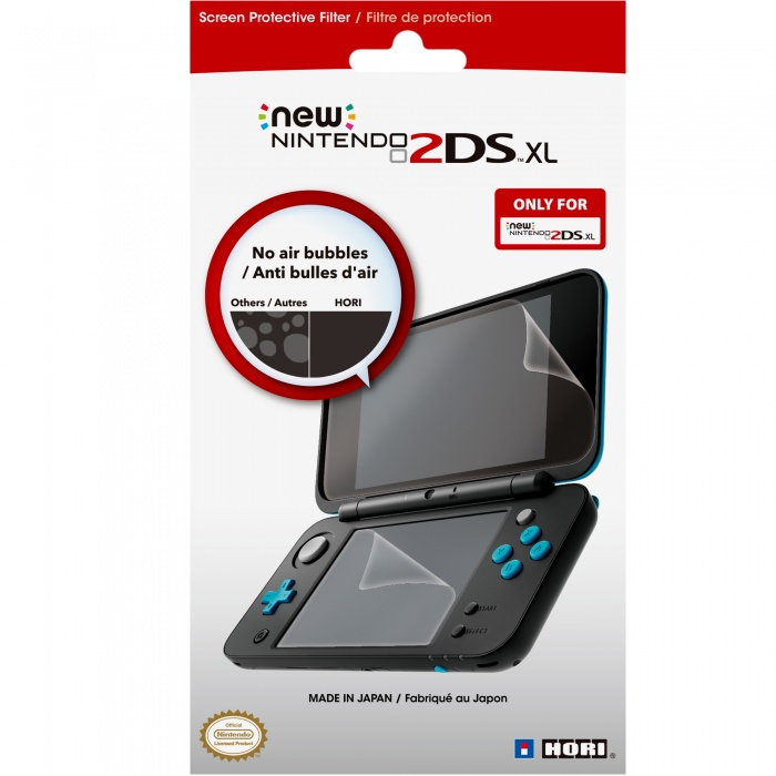 HORI - New 2DS XL Protective Screen Filter