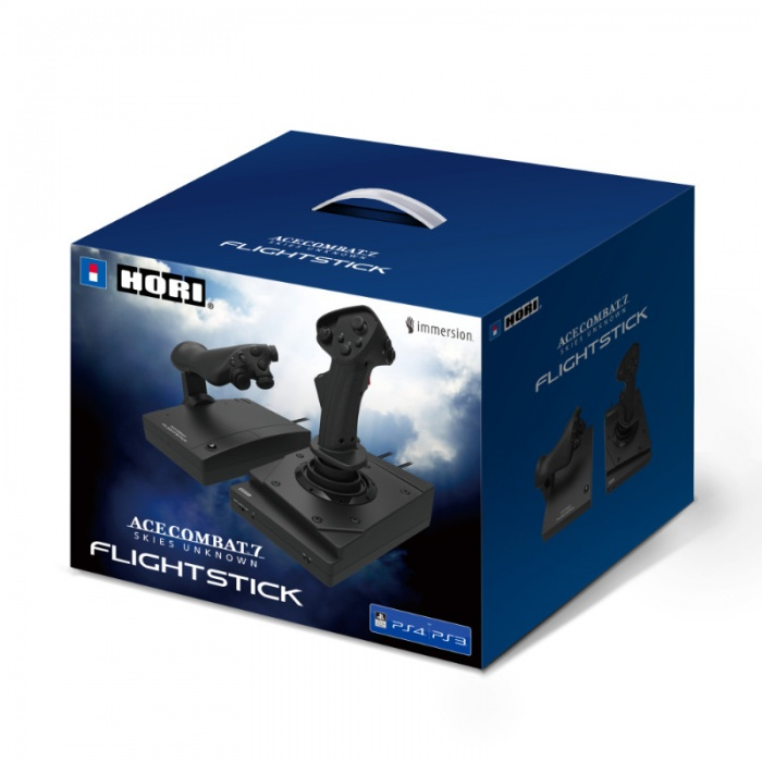 HORI - PS4/PS3/PC HOTAS Flight Stick - Ace Combat 7