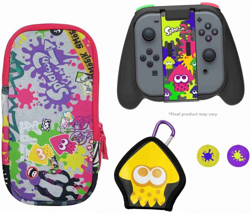 HORI - Splatoon 2 Deluxe Splat Pack for Nintendo Switch
