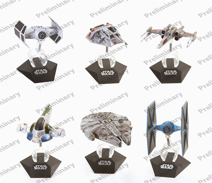 HOT WHEELS - Star Wars Kolekce hvězdných lodí CGW52