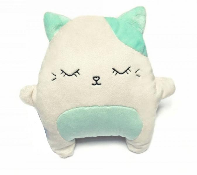 HUSHABLES - Šumivý mazlík Kočka Hushables - mätový
