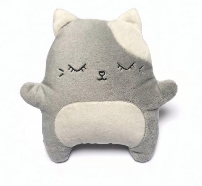 HUSHABLES - Šumivý mazlík Kočka Hushables - šedý
