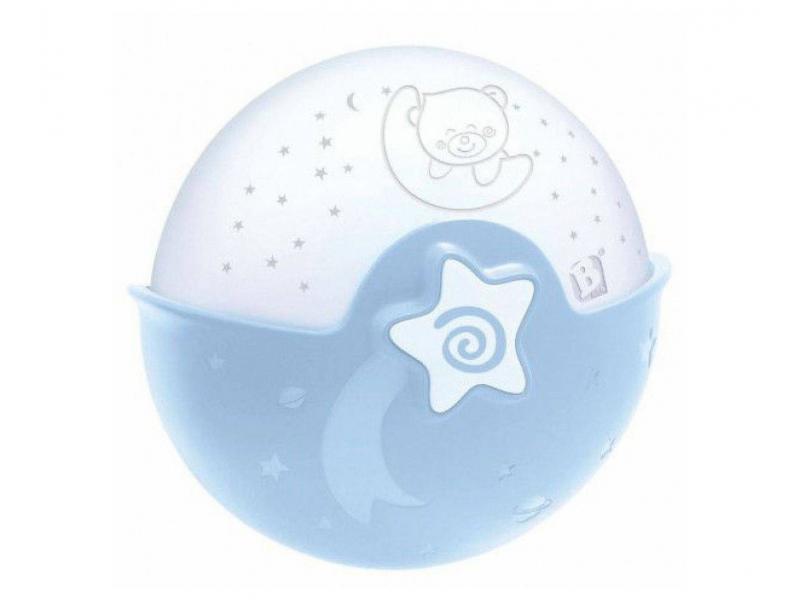 INFANTINO - Noční lampička s projekcí modrá Infantino