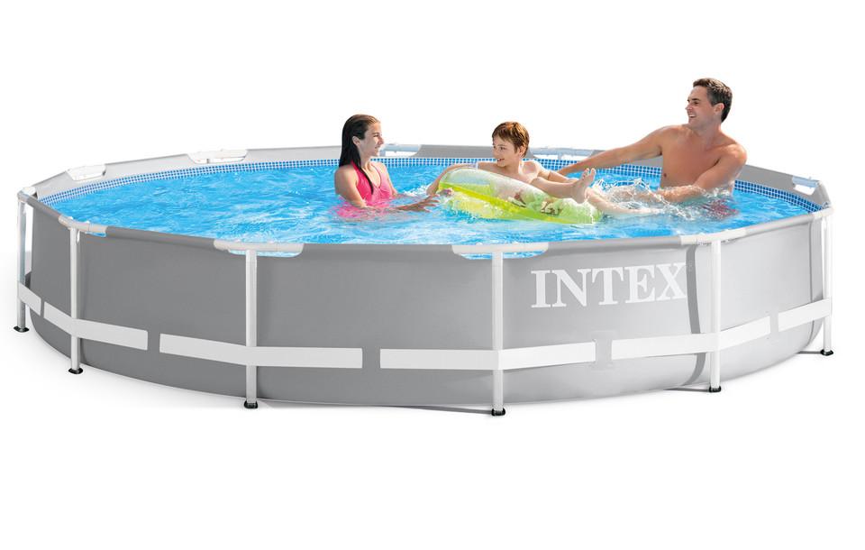 INTEX - 26712 Bazén Prism Frame s kartušovou filtrací 366x76cm