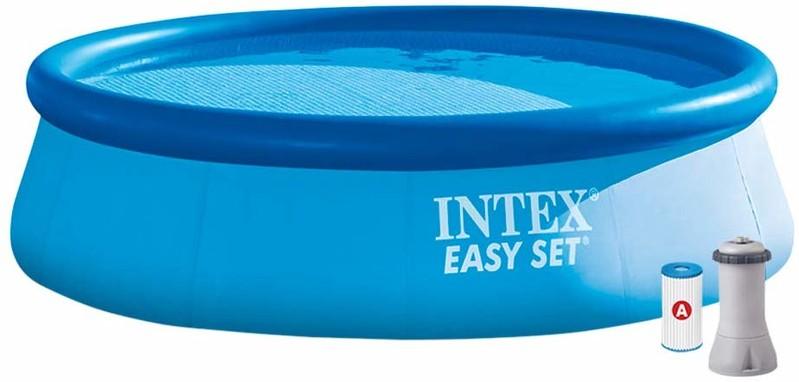 INTEX - 28132 Bazén Easy Set Pool s kartušovou filtrací 366x76cm