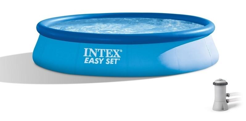 INTEX - 28142 Bazén Easy Set s kartušovou filtrací 396x84cm