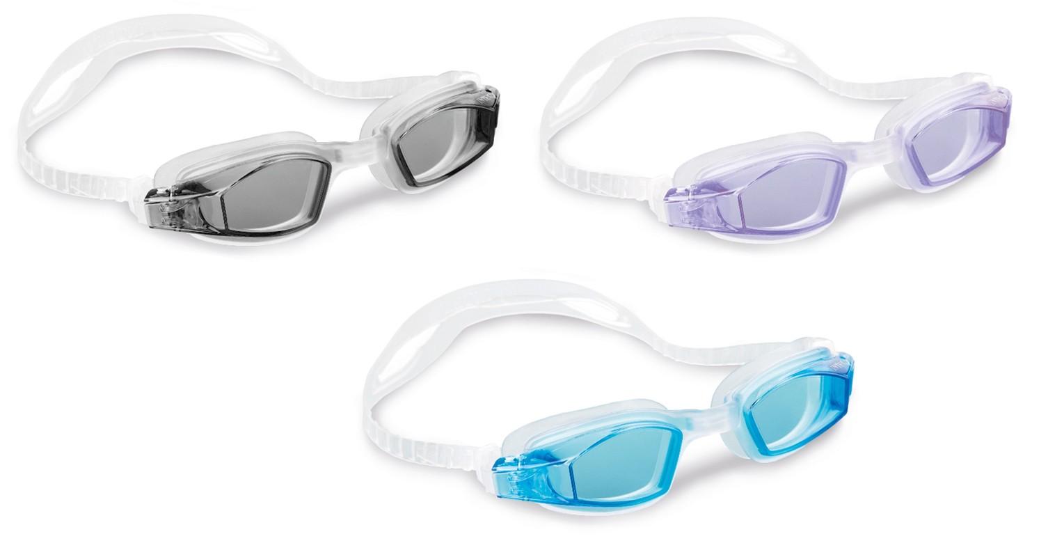 INTEX - 55682 Freestyle Sport Sportovní plavecké brýle - černá