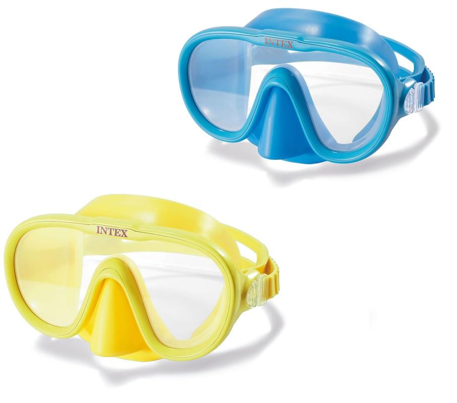 INTEX - 55916 Plavecké brýle Sea Scan 8+ - žluté