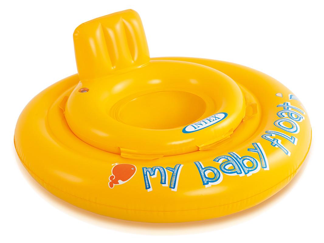 INTEX - 56585 Baby kruh se sedátkem 70cm
