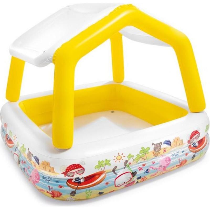 INTEX - baby nafukovací bazén Akvárium se stříškou 57470
