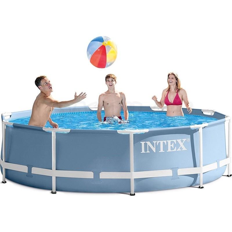 INTEX - bazén Prism Frame 305 x 76 cm s filtračním zařízením 28702