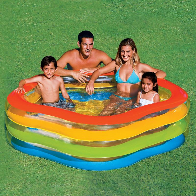 INTEX - Bazén ve tvaru hvězdy 180 x 185 x 53 cm