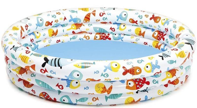 INTEX - dětský nafukovací bazén Rybky 132x28cm