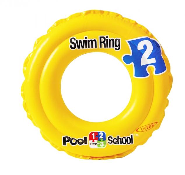 INTEX - Nafukovací kruh Pool School, 51 cm