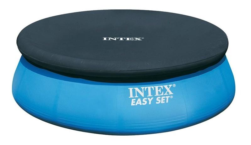 INTEX - krycí plachta na bazén kulatá o průměru 457 cm 28023