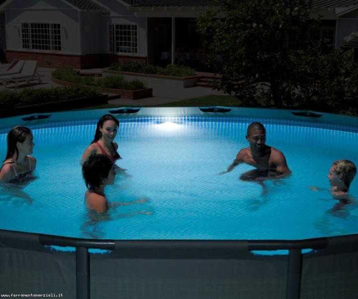 INTEX - magnetické led boční světlo do bazénu 28688